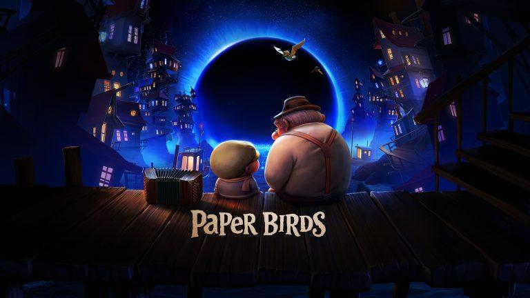 PAPER BIRDS - horizontal poster